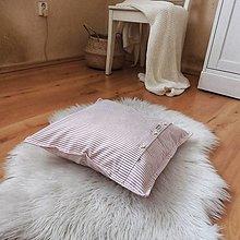 Úžitkový textil - Obliečka na vankúš 40 x 40 cm - 12920154_
