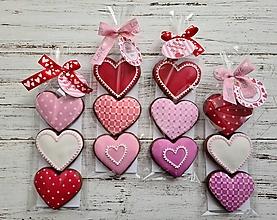 Dekorácie - Valentínske srdiečka - 12922945_