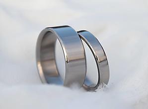 Prstene - Titánové obrúčky - 12925039_