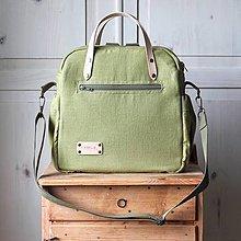 Veľké tašky - Veľká taška LUSIL bag 3in1 *Spring Green* - 12922344_