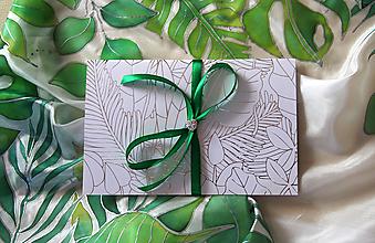 Papiernictvo - Darčekové balenie na hodváb... - 12923205_