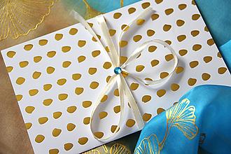 Papiernictvo - Darčekové balenie na hodváb... - 12923584_
