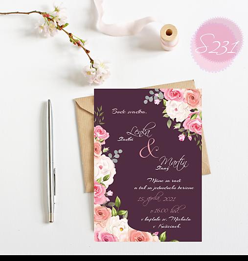 svadobné oznámenie 231