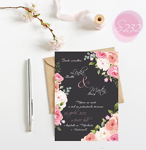 svadobné oznámenie 232