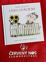 Dobrý obchod - Detská kniha: Láska za plotom - 12922452_
