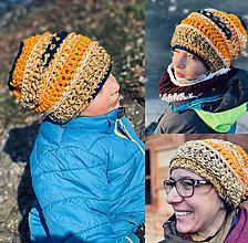 Čiapky - Zimná čiapka Homelesska - Moja, moja aj Moja - 12924941_