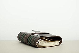 Papiernictvo - Kožený zápisník Jakub - 12922399_