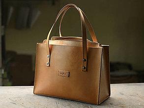 Veľké tašky - Rezervácia Kožená taška Klára - 12926218_