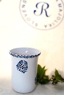 Nádoby - Modrý pohár na kefky - 12927207_