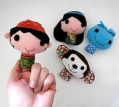 Hračky - Sada maňušiek na prst (Aladdinove dobrodružstvá) - 12927714_