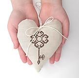 Dekorácie - Kľúče od môjho srdca - 12929319_
