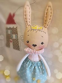 Bábiky - zajčia princezná Matilda - 12927671_