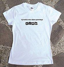 Tričká - tričko víno pre mamu - 12929797_