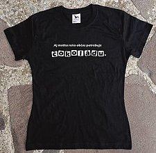 Tričká - tričko čokoláda pre mamu - 12929823_