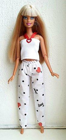 Hračky - Romantické pyžamko pre Barbie - 12929955_