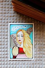 Grafika - Slamienka - print - 12927079_