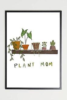 "Grafika - ""Plant Mom"" ~ Print ~ - 12929530_"