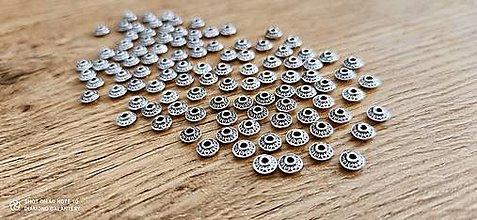 Korálky - Korálky 6 mm - Tibet - Antické striebro - 12933545_