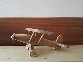 Hračky - Lietadlo z čerešňového dreva - 12931564_