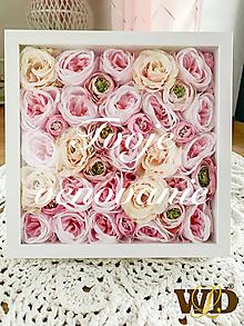 Krabičky - Kvetinový box - 12933064_
