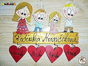 Tabuľky - Menovka - rodinka - 12934052_
