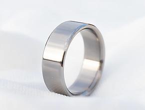 Prstene - Titánový prsteň - 12934632_