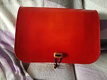 """Kabelky - Dámska kabelka """"červená oranžová"""" - 12930552_"""