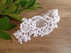 Bielizeň/Plavky - Luxusný svadobný podväzok - 12931899_