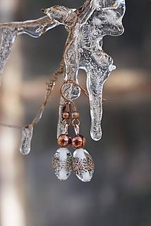 Náušnice - Náušnice - Ľadové vinutky - 12931077_