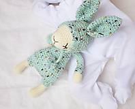 Hračky - Zajko - spinkáčik (iný farebný variant) - 12932401_