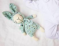 Hračky - Zajko - spinkáčik (iný farebný variant) - 12932402_