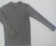 Oblečenie - Pánsky nátelník biobavlna - rybičky - 12931026_
