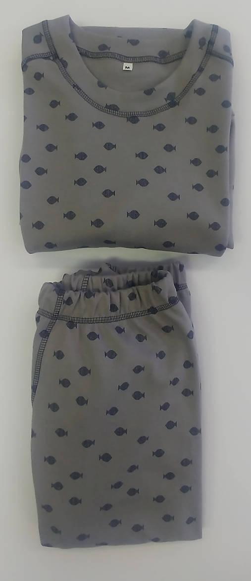 Pánske pyžamo biobavlna