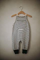 Detské oblečenie - Pásikavé lacláče - 12931886_