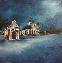 Obrazy - Kalvária Prešov - maľba akrylom - 12932667_