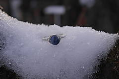 Prstene - Prsteň so sodalitom (1,5 - Strieborná) - 12930561_