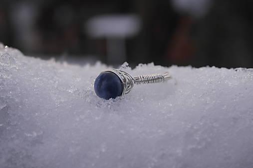 Prsteň so sodalitom (1,5 - Strieborná)