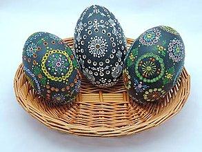Dekorácie - Emu kraslica farebná - 12931836_