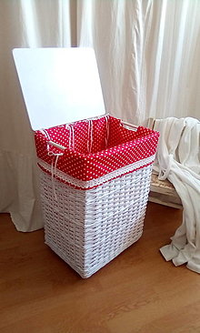 Košíky - Kôš na prádlo LINDA - 12930860_