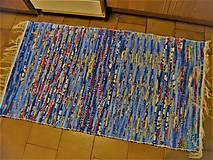 Úžitkový textil - Tkaný koberec pestrofarebný 14 - 12934212_