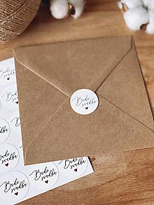 Papiernictvo - Nálepky Bude svadba 2 - 12936180_