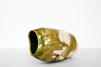 Dekorácie - Stekavá váza - 12936539_