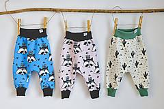 Detské oblečenie - Pudláče INDI (organická bavlna) - 12936074_