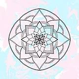 """Grafika - Ilustrácia """" Mandala"""" - 12939455_"""