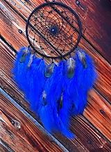 Dekorácie - Lapač snov Nočná obloha - lapis lazuli - 12935970_