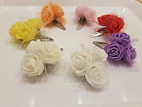 Ozdoby do vlasov - Little Flowers - 12940593_
