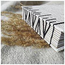 Papiernictvo - Fotoalbum hnedé a biele stránky - 12938554_