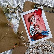 Kresby - Najlepší tatinko/ print - 12943235_