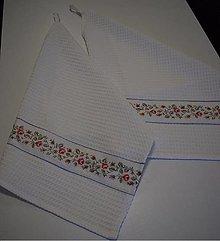 Úžitkový textil - UTĚRKY ..květy - 12944523_