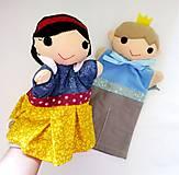 Hračky - Sada manušiek (Snehulienka a princ) - 12942162_